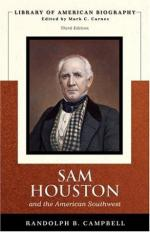 Sam Houston and the American Southwest by Randolph B. Campbell