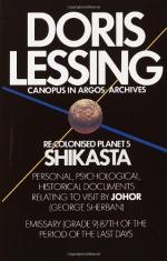 Shikasta: Re, Colonised Planet 5: Personal, Psychological, Historical… by Doris Lessing