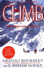 The Climb: Tragic Ambitions on Everest by Anatoli Boukreev