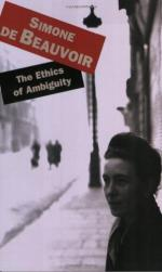 The Ethics of Ambiguity; by Simone De Beauvoir