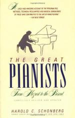 The Great Pianists by Harold C. Schonberg