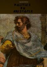 The Politics of Aristotle by Aristotle