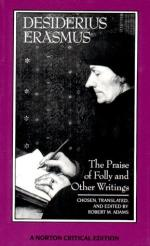 The Praise of Folly by Desiderius Erasmus