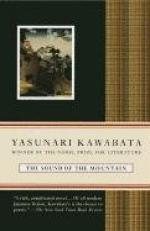 The Sound of the Mountain by Yasunari Kawabata