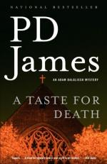 A Taste for Death by P. D. James