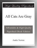 All Cats Are Gray by Andre Norton