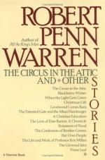 Circus in the Attic by Robert Penn Warren