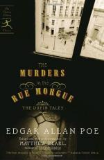 Murders in the Rue Morgue by Edgar Allan Poe