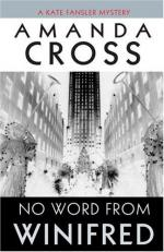 No Word from Winifred by Amanda Cross and Carolyn Gold Heilbrun