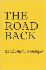 The Road Back by Erich Maria Remarque