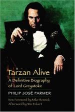 Tarzan Alive by Philip José Farmer